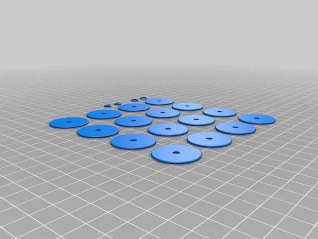 波形项链 3D模型  图8