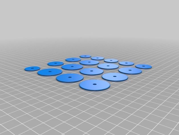 波形项链 3D模型  图7