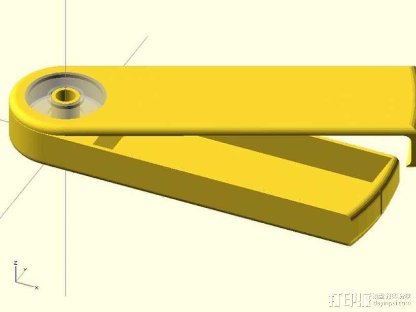 迷你卡片收纳盒 3D模型  图8