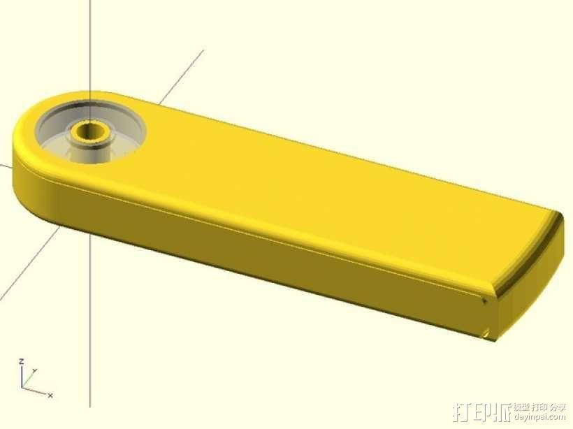 迷你卡片收纳盒 3D模型  图7