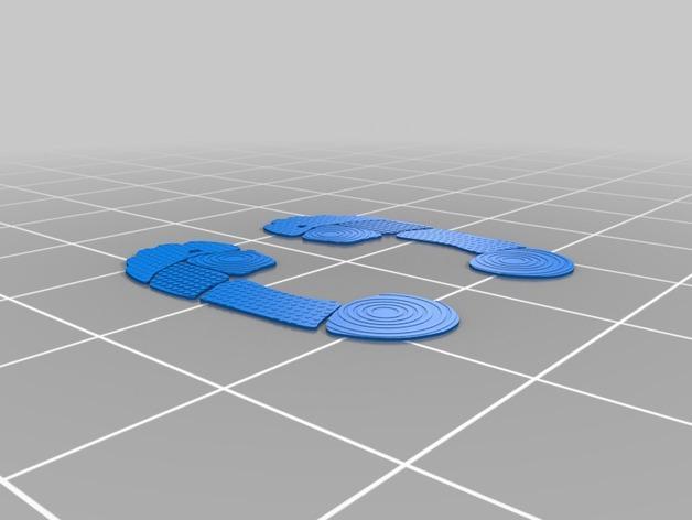 沙滩拖鞋  3D模型  图8