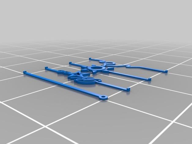沙滩拖鞋  3D模型  图10