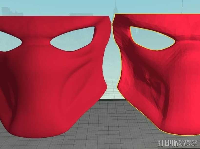 铁血战士 面具 3D模型  图4