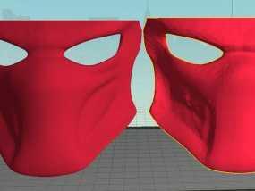 铁血战士 面具 3D模型