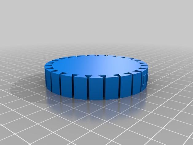 名字手链 3D模型  图3