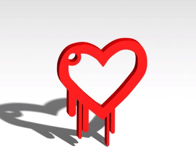 淌血的心脏 钥匙扣 3D模型  图3