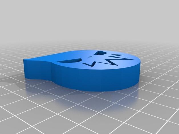 噬魂师吊坠饰品 3D模型  图2