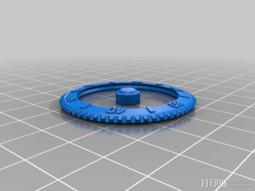 潜水手表 3D模型  图7