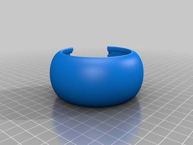 LED发光手镯 3D模型  图10