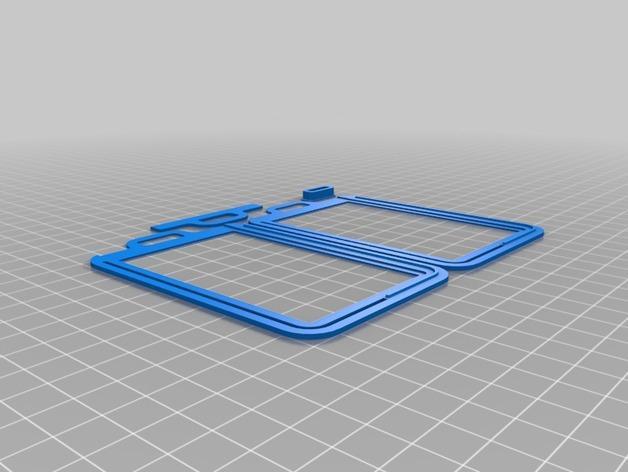 身份证卡套 3D模型  图2