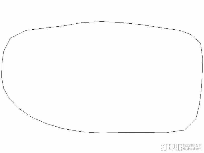 眼镜 3D模型  图2