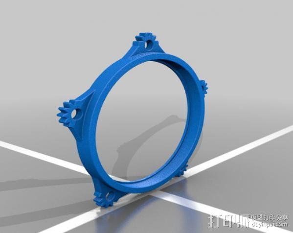 蒸汽朋克护目镜 3D模型  图8