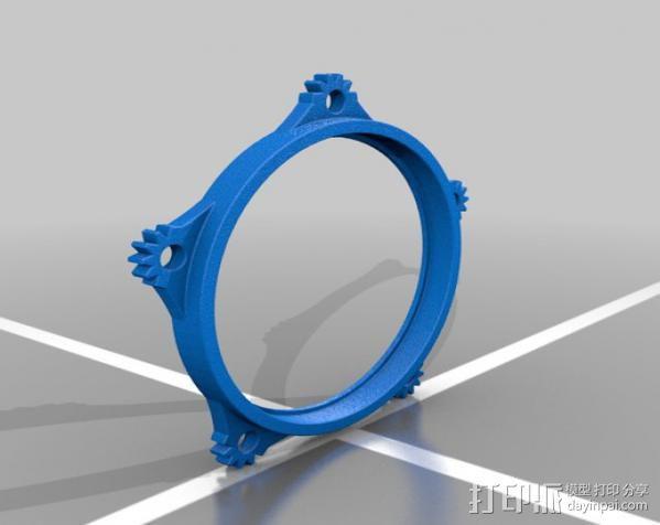 蒸汽朋克护目镜 3D模型  图9