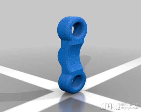 蒸汽朋克护目镜 3D模型  图13