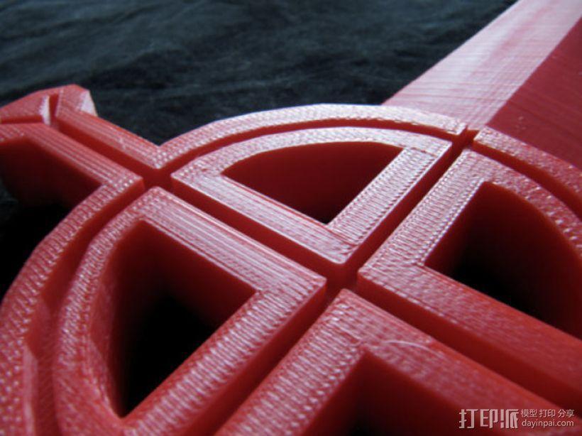 Finn 的降魔剑 3D模型  图10