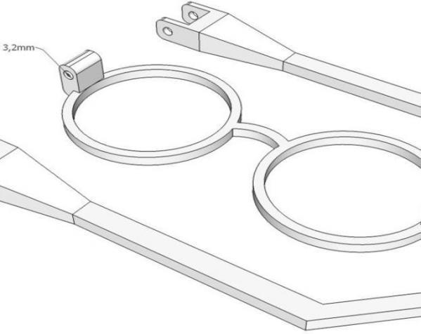 哈利波特眼镜 3D模型  图4