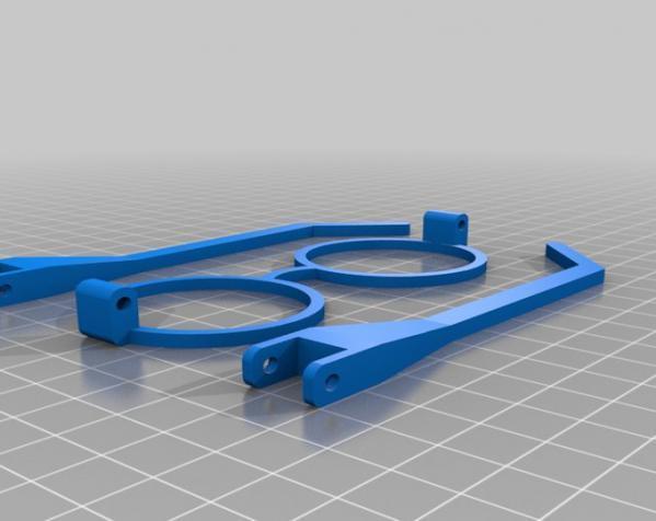 哈利波特眼镜 3D模型  图3