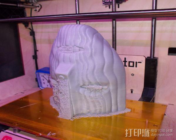 洛基面具 3D模型  图2