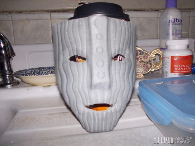 洛基面具 3D模型  图1