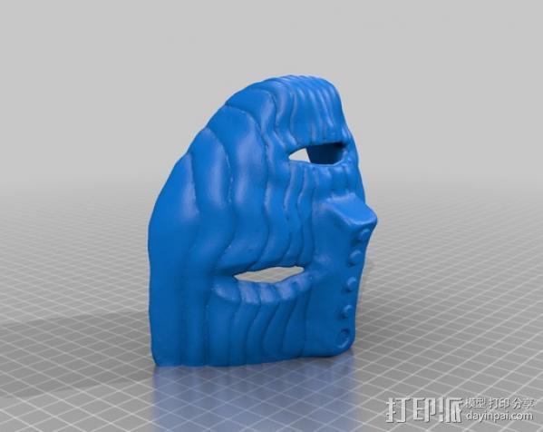 洛基面具 3D模型  图3