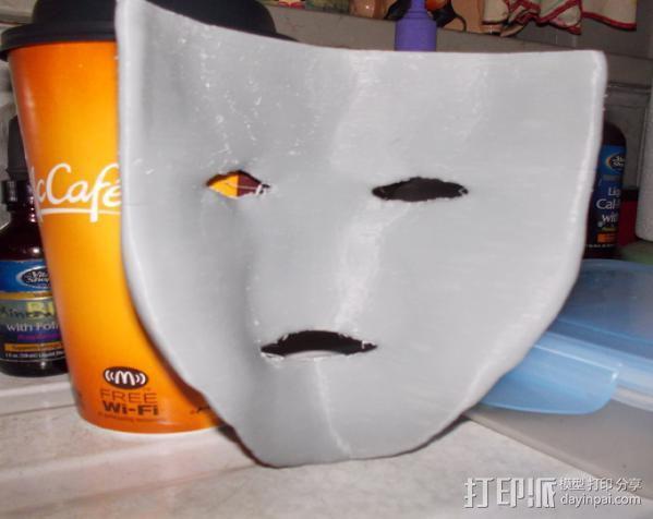 洛基面具 3D模型  图6