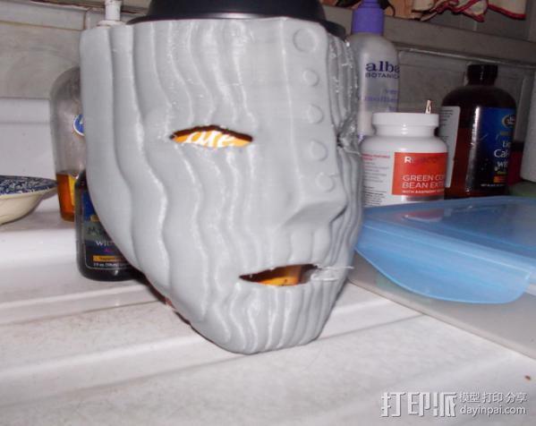 洛基面具 3D模型  图5