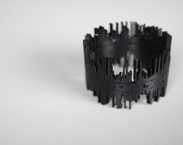 声波手镯 3D模型  图3