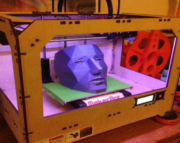 低面数面具 3D模型  图3