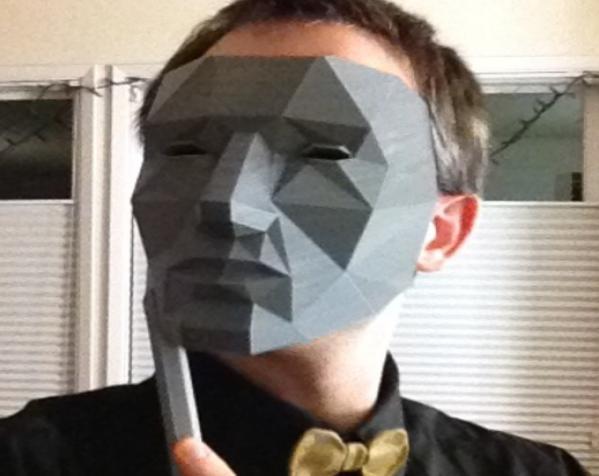 低面数面具 3D模型  图5