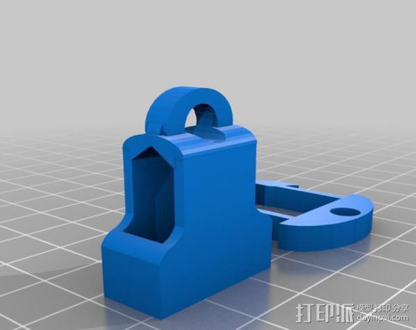钥匙链 扣夹 3D模型  图3