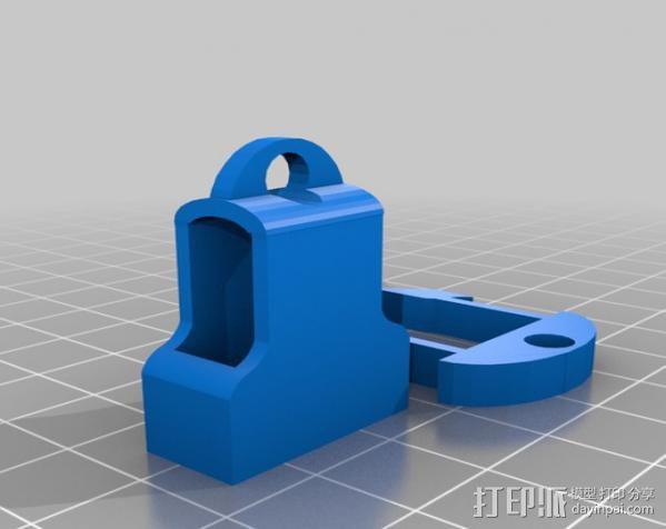 钥匙链 扣夹 3D模型  图6
