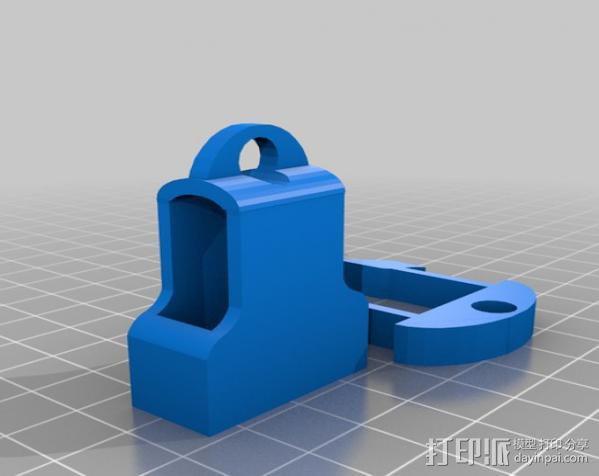 钥匙链 扣夹 3D模型  图5