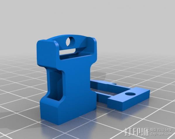 钥匙链 扣夹 3D模型  图9