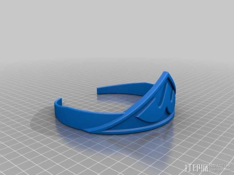 神奇女侠 皇冠 3D模型  图1