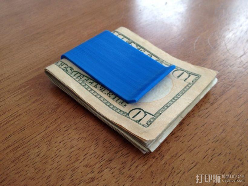 钱夹 3D模型  图1