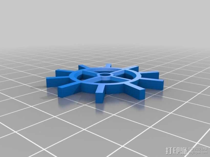 装饰性齿轮 3D模型  图10