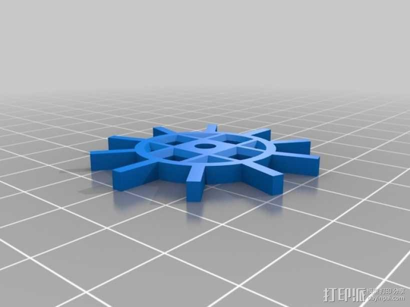 装饰性齿轮 3D模型  图13