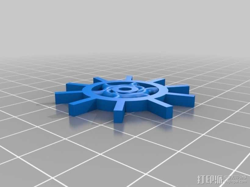 装饰性齿轮 3D模型  图12