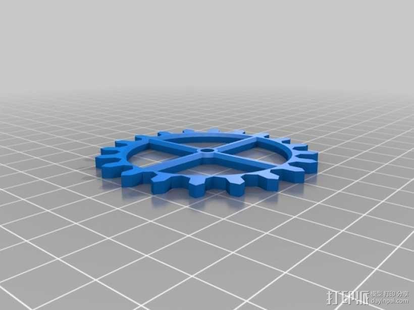 装饰性齿轮 3D模型  图16