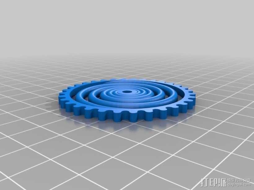 装饰性齿轮 3D模型  图19