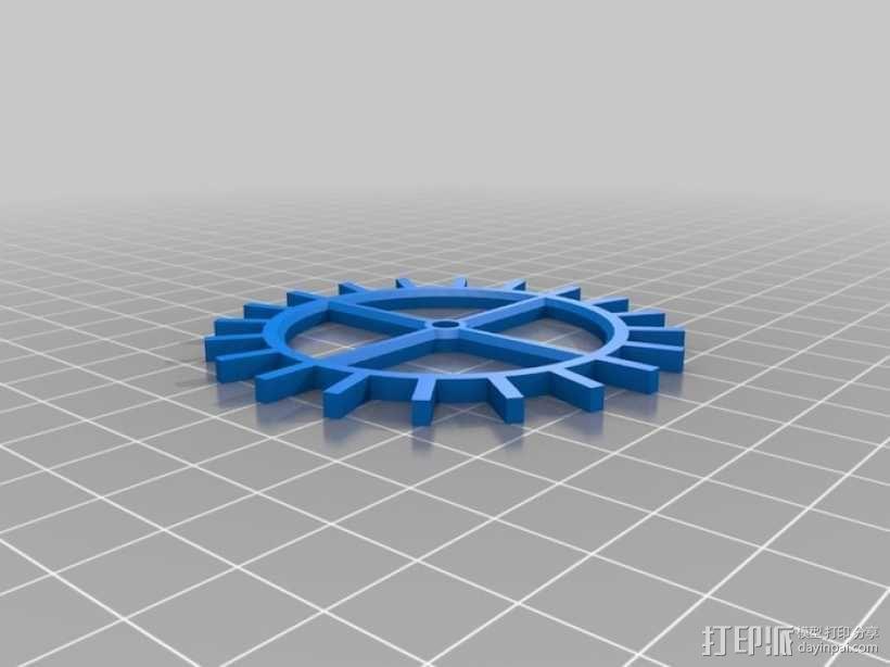 装饰性齿轮 3D模型  图25