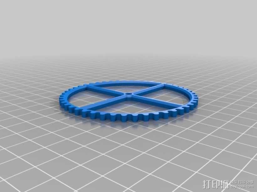 装饰性齿轮 3D模型  图32