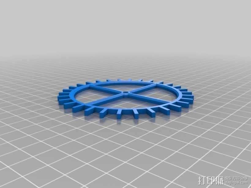 装饰性齿轮 3D模型  图36