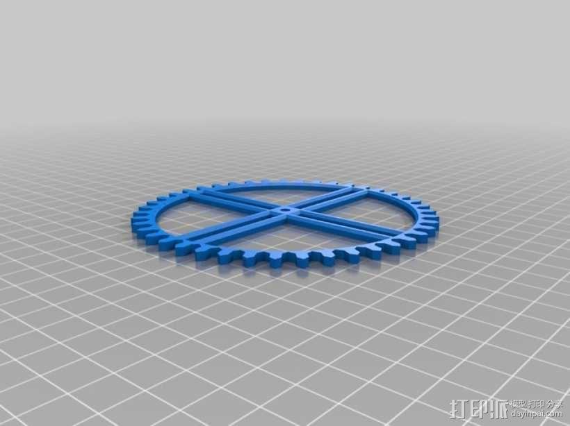 装饰性齿轮 3D模型  图38