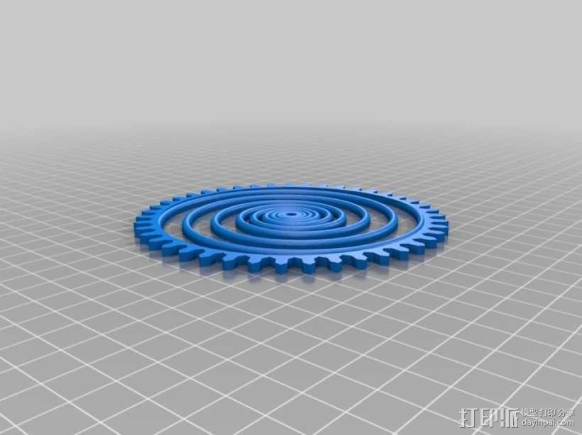 装饰性齿轮 3D模型  图39