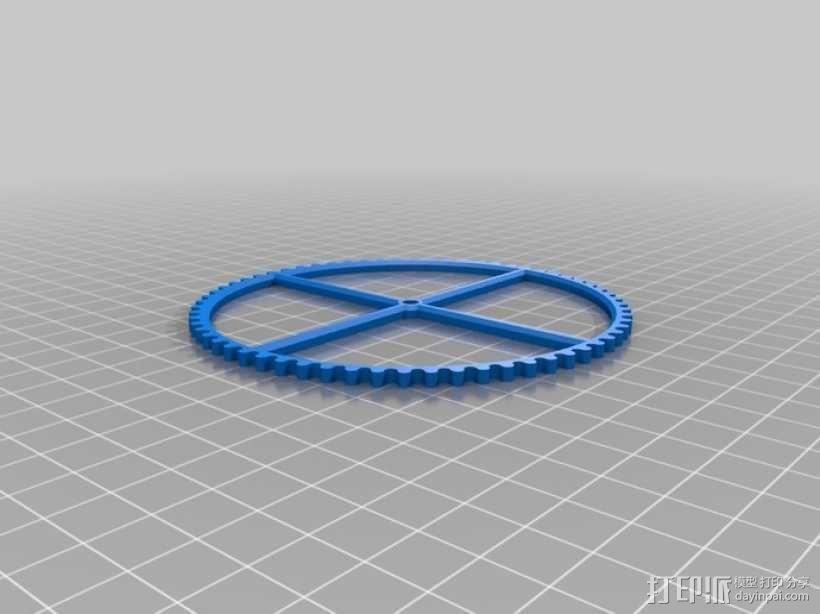 装饰性齿轮 3D模型  图44