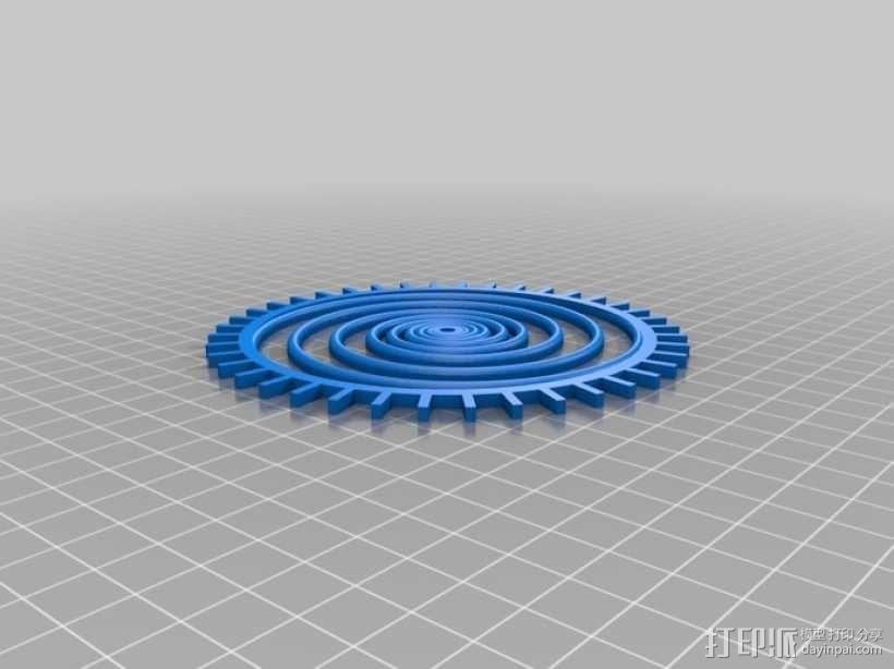 装饰性齿轮 3D模型  图47