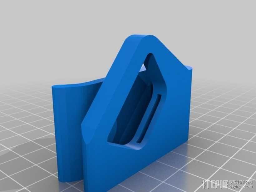 钱夹 3D模型  图3