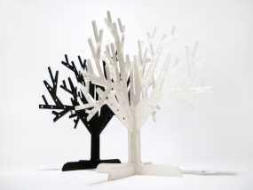 树形首饰架 3D模型