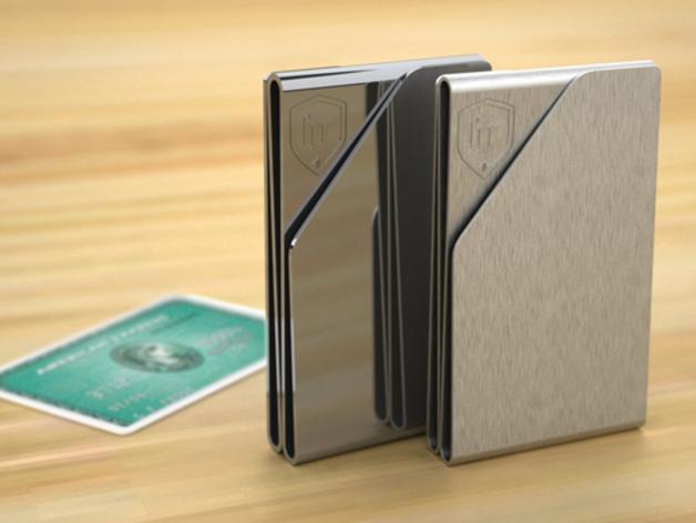 薄款钱夹 3D模型  图1